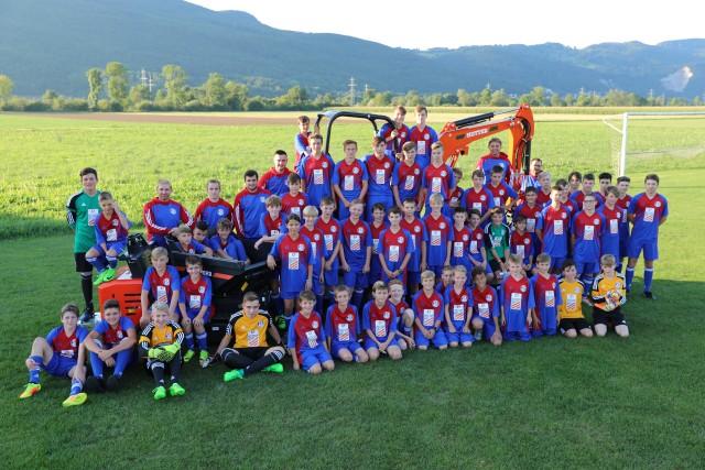 Juniorengruppierung FC Kestenholz und FC Wolfwil
