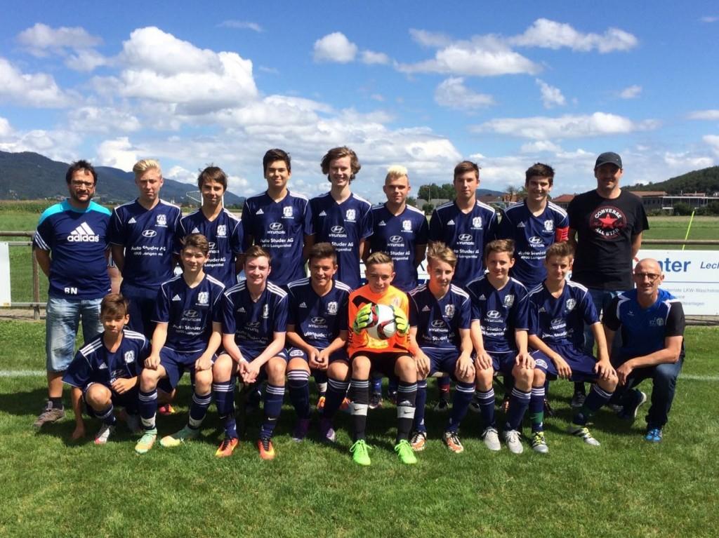 Junioren B Saison 2016/17