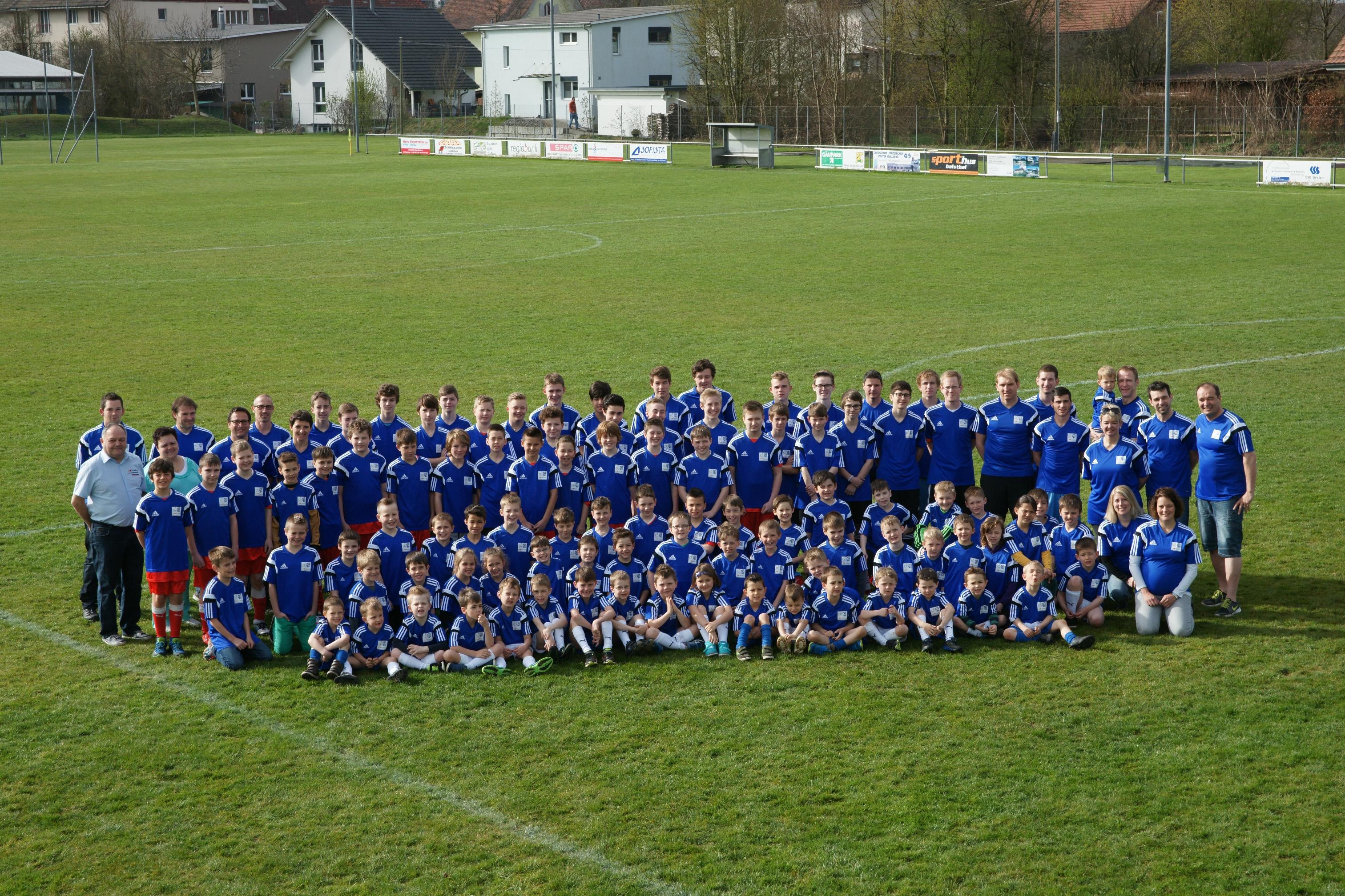 Juniorenmannschaften Saison 2014/15